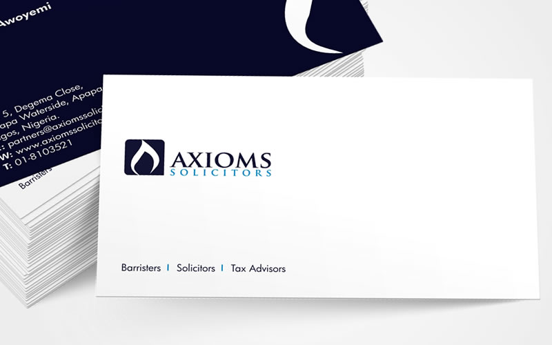 Axiom Solicitors Brand Design